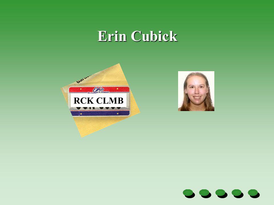 Erin Cubick RCK CLMB