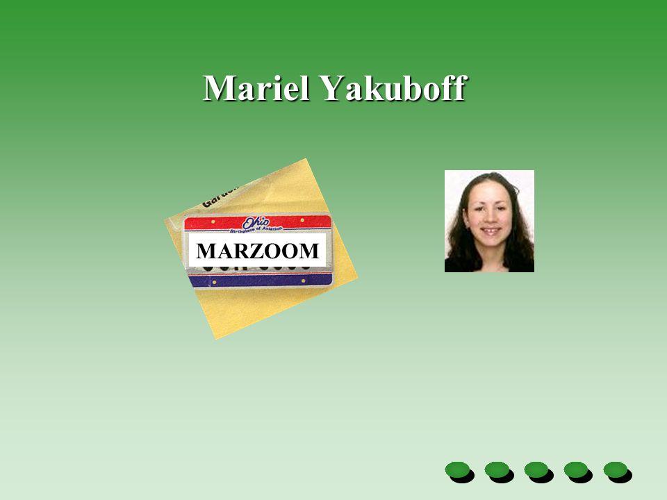 Mariel Yakuboff MARZOOM