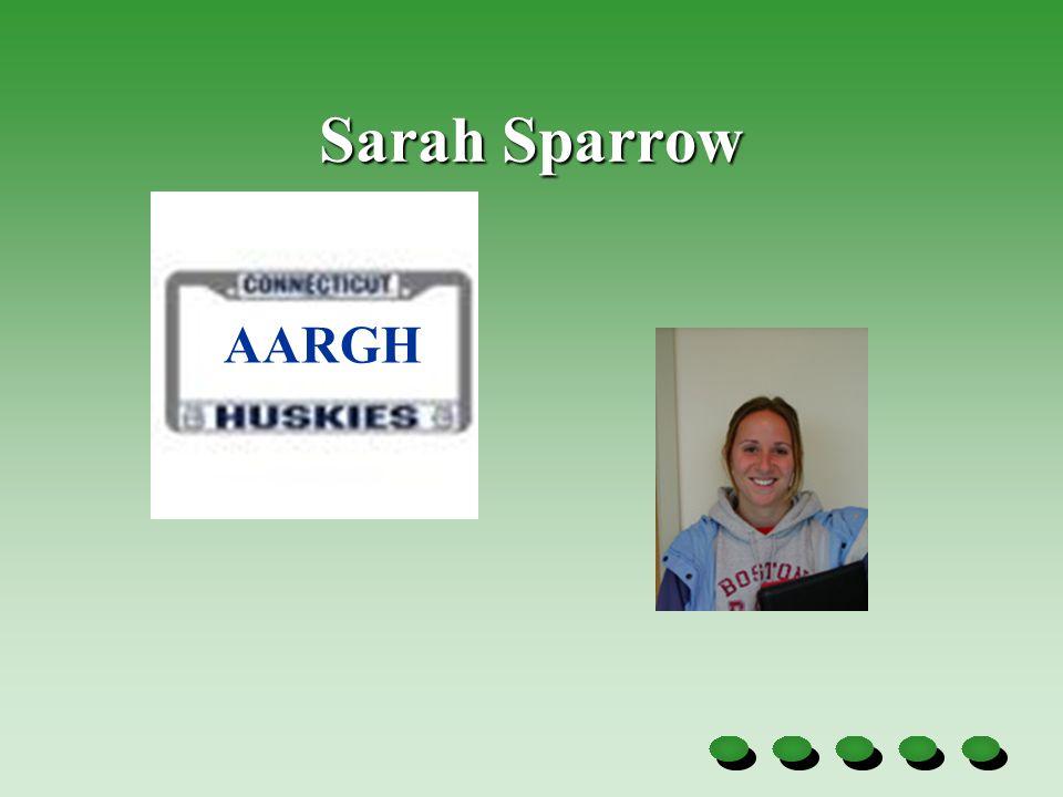 Sarah Sparrow AARGH