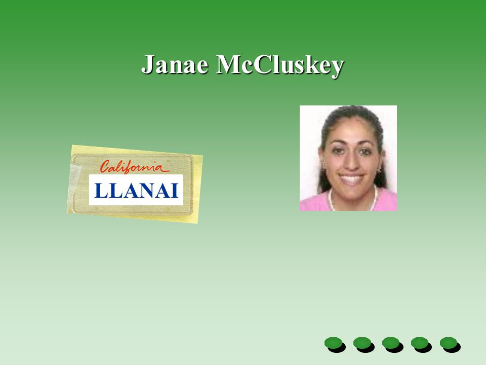 Janae McCluskey LLANAI