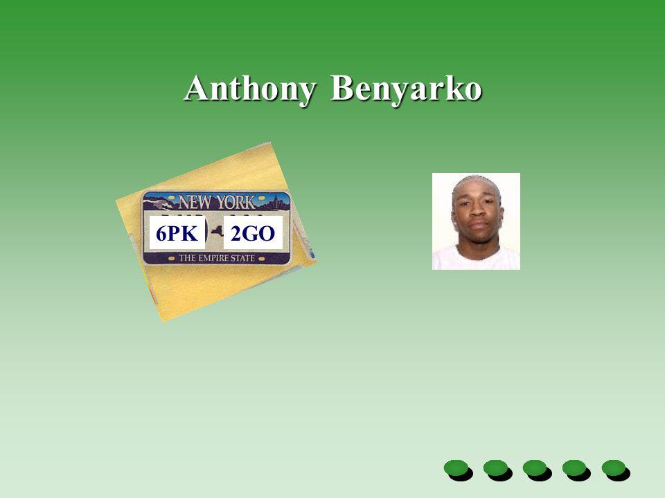 Anthony Benyarko 6PK2GO