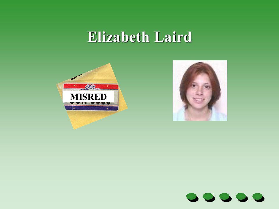 Elizabeth Laird MISRED