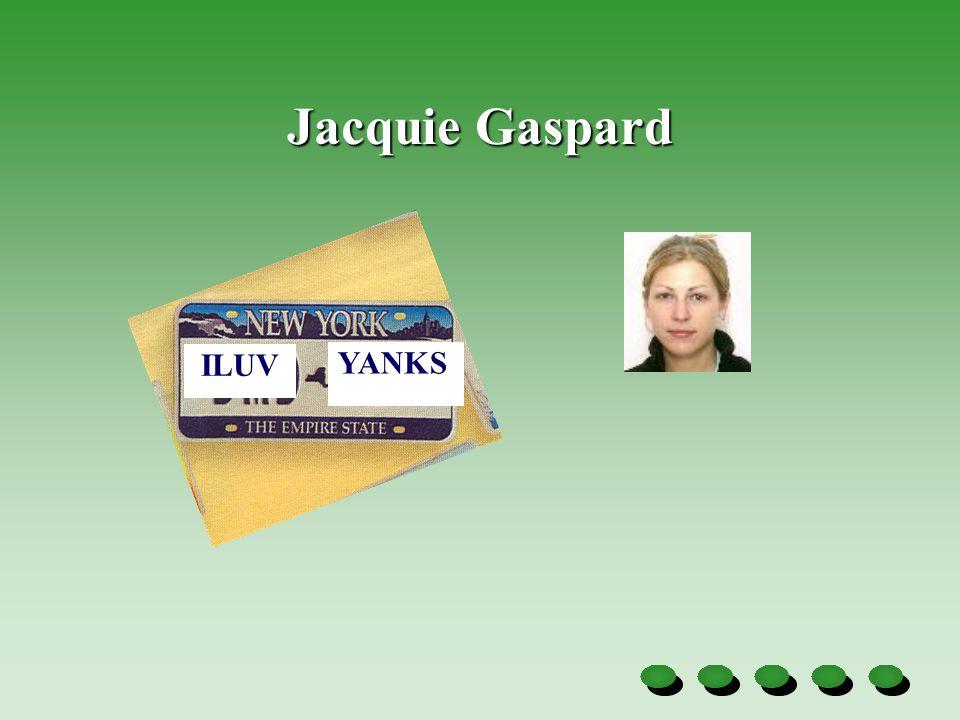 Jacquie Gaspard ILUV YANKS