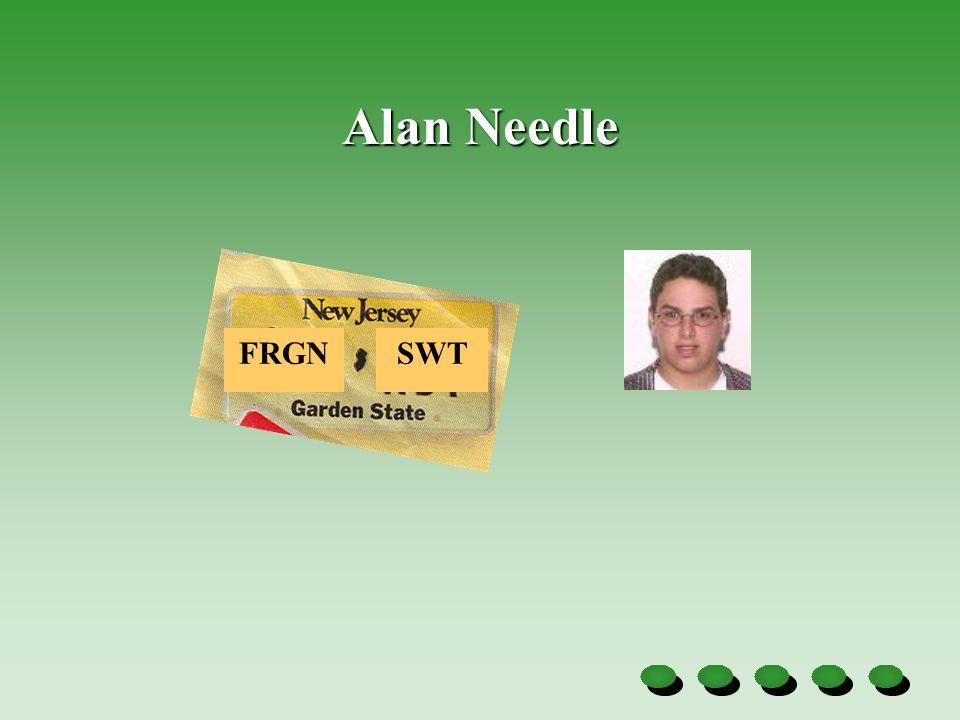 Alan Needle FRGNSWT