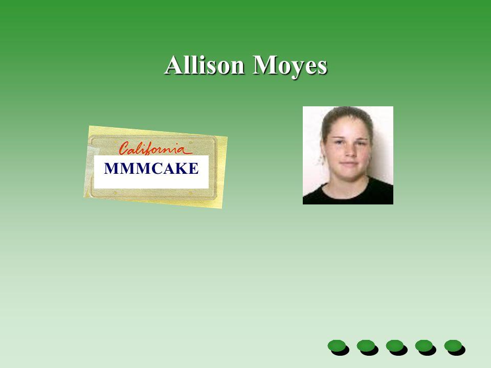 Allison Moyes MMMCAKE