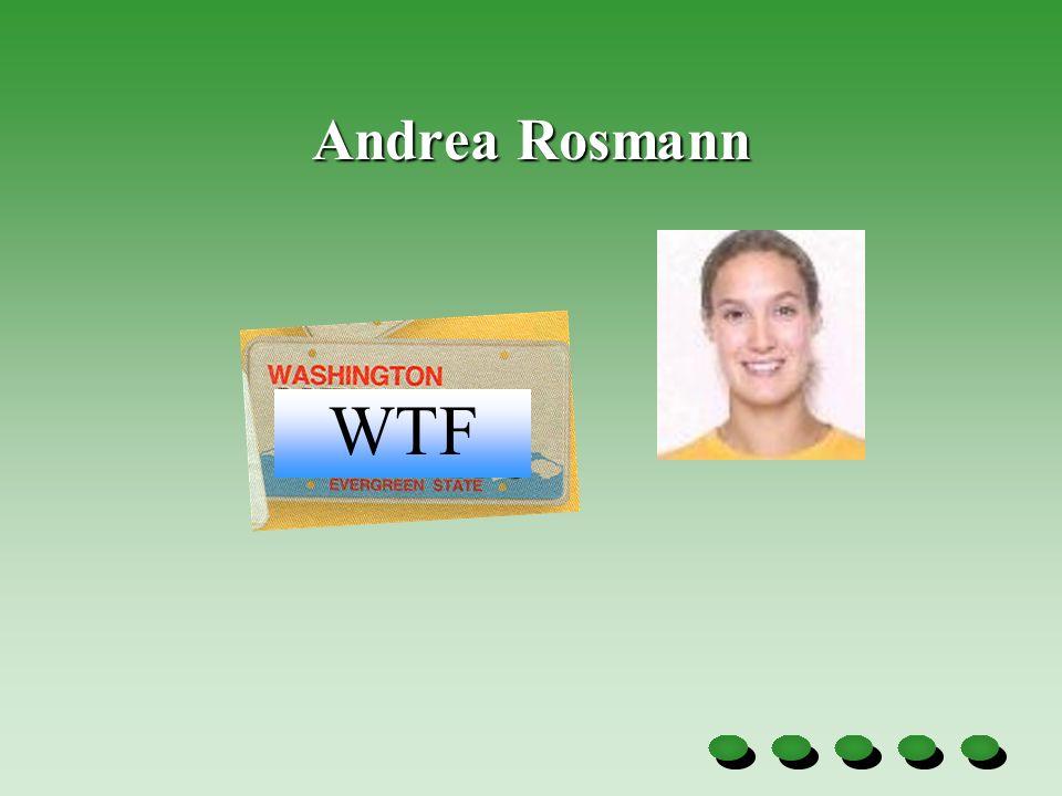 Andrea Rosmann WTF