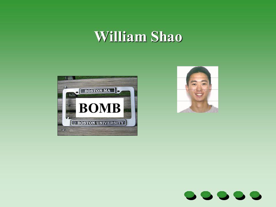 William Shao BOMB