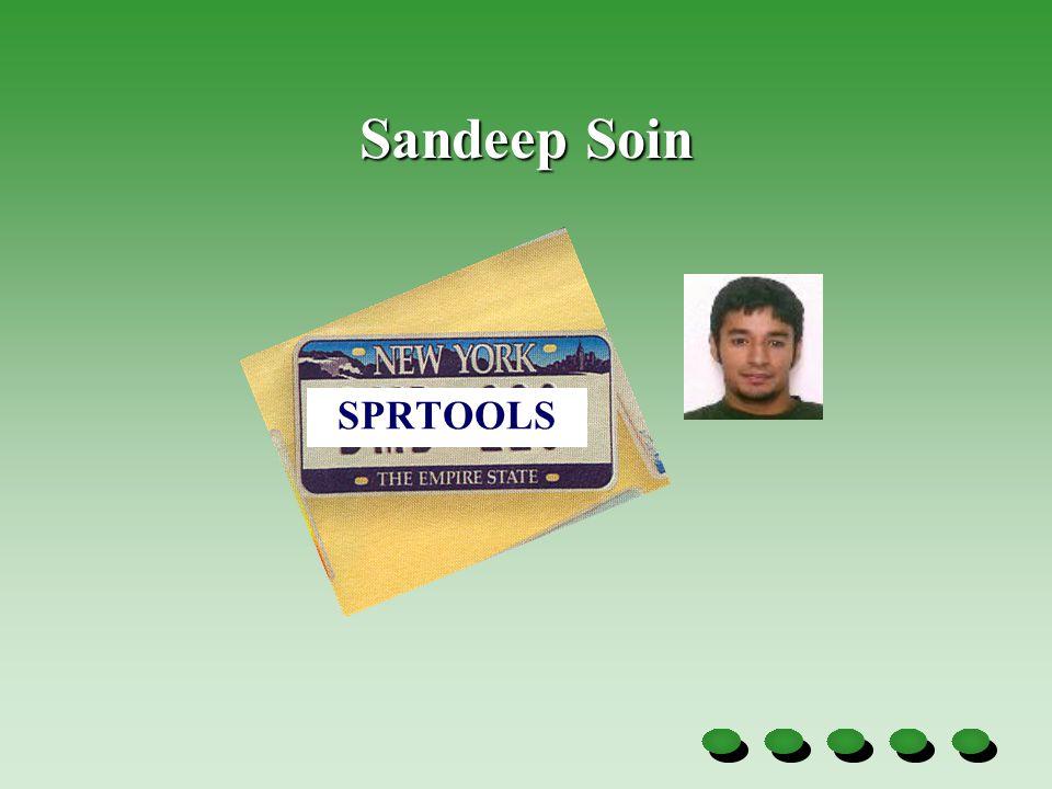 Sandeep Soin SPRTOOLS