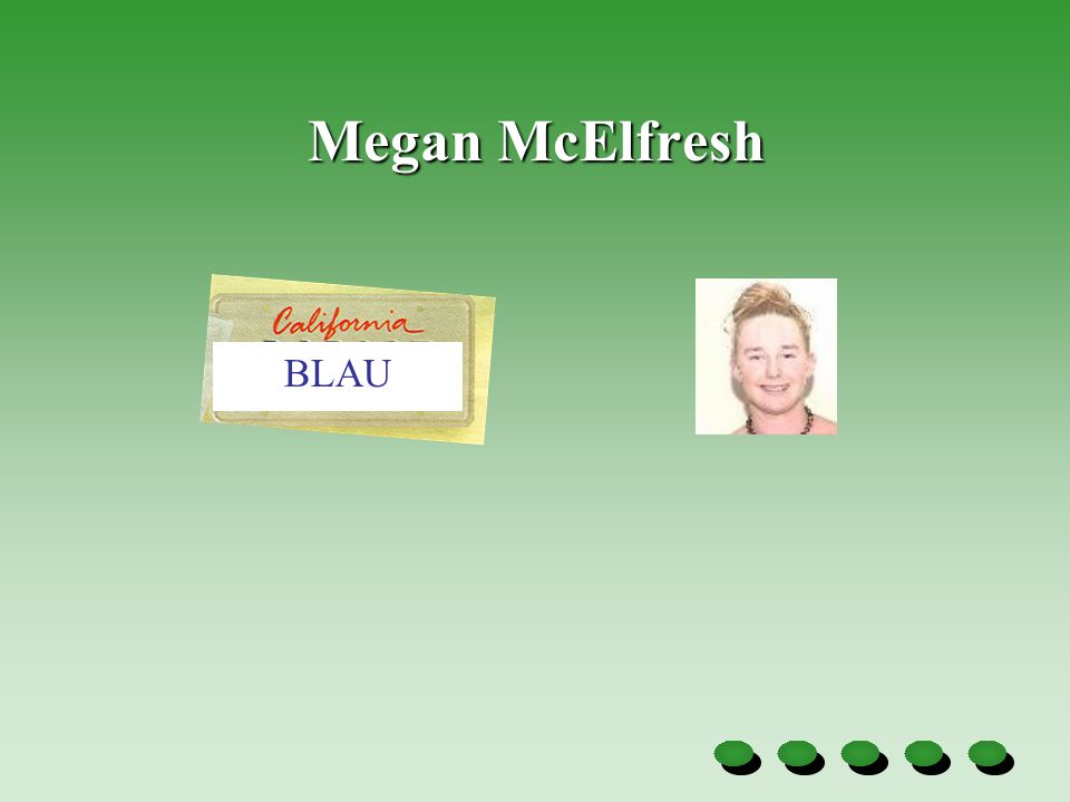 Megan McElfresh BLAU