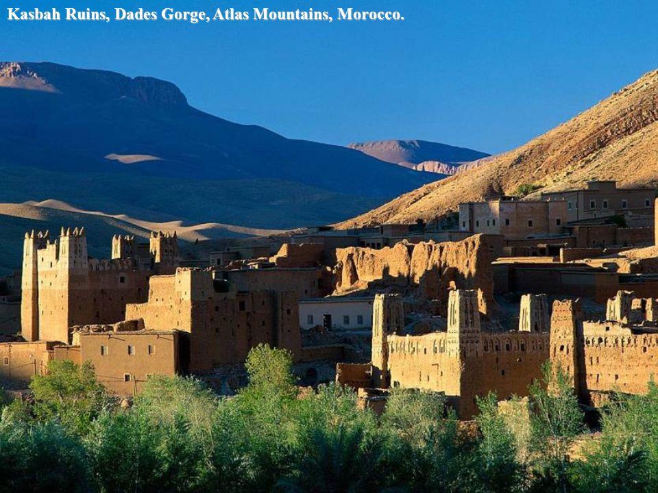 Kasbah Ruins, Ait Benhaddou, Morocco.