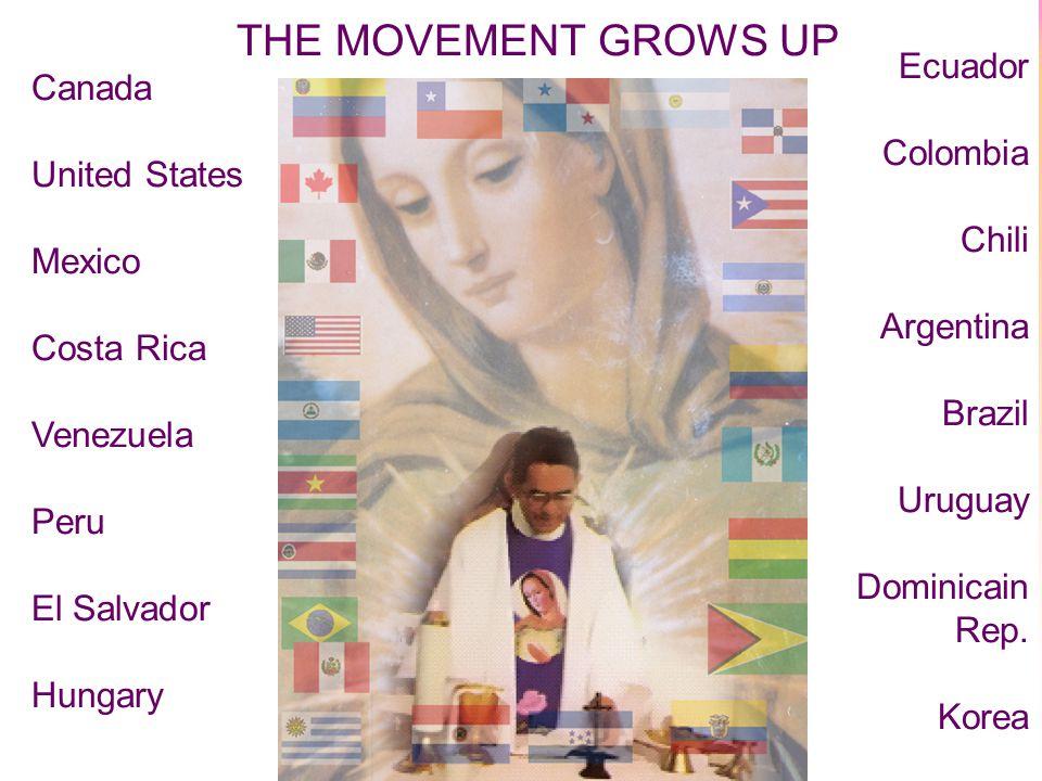 3 Canada United States Mexico Costa Rica Venezuela Peru El Salvador Hungary Ecuador Colombia Chili Argentina Brazil Uruguay Dominicain Rep.