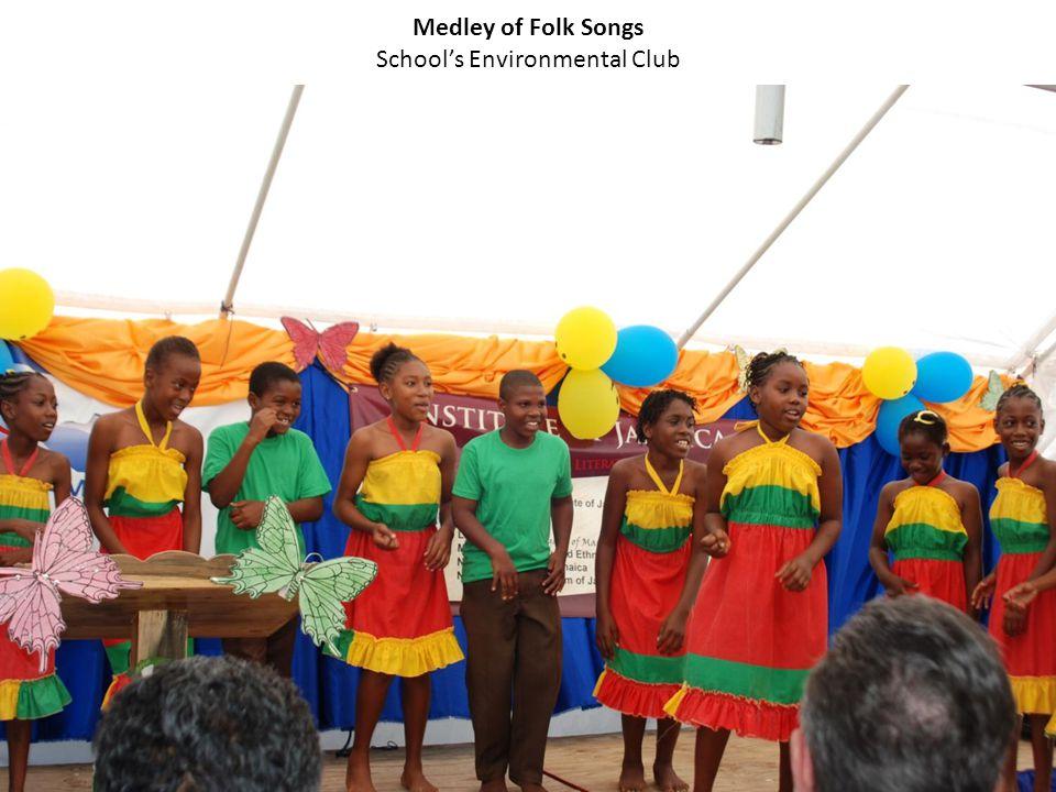 Medley of Folk Songs School's Environmental Club