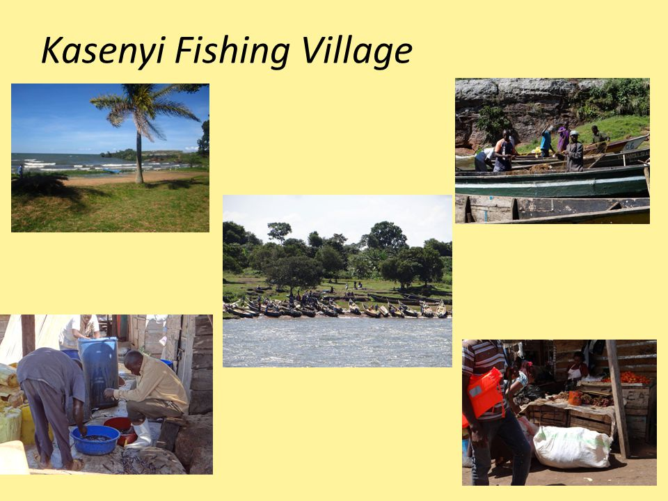 Kasenyi Fishing Village