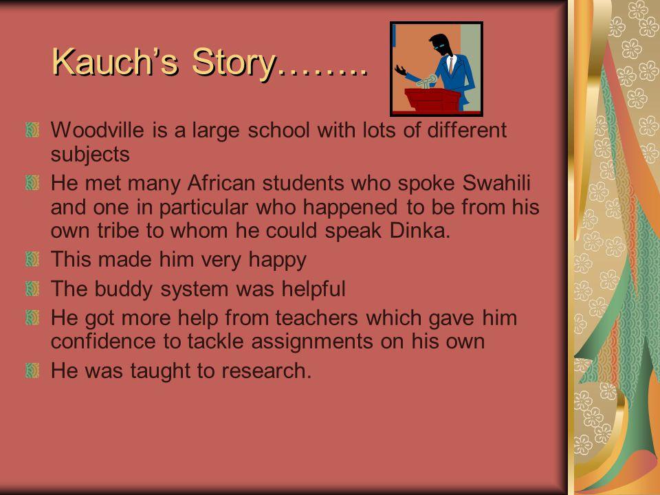 Kauch's Story……..