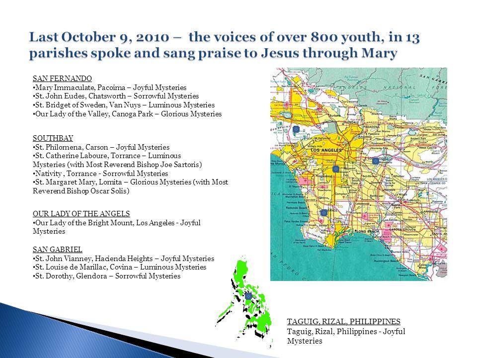 SAN GABRIEL St. John Vianney, Hacienda Heights – Joyful Mysteries St.