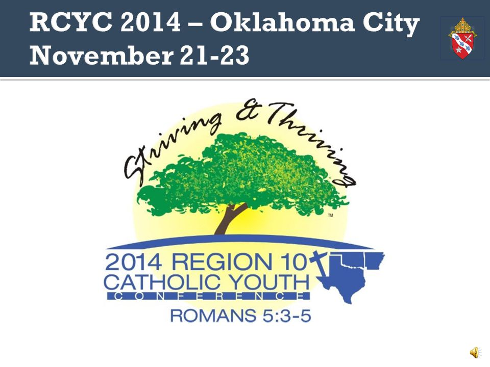 How to register a parish group for the Region 10 Catholic Youth Conference in 2014