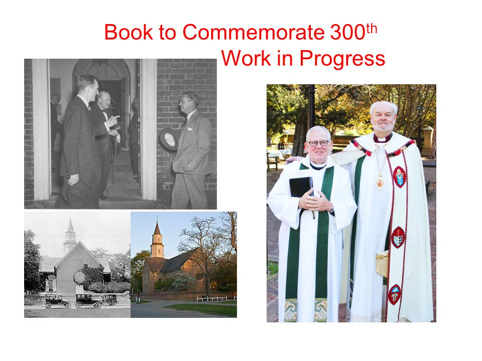 Book to Commemorate 300 th Work in Progress