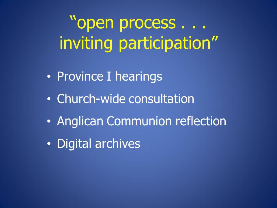 open process...