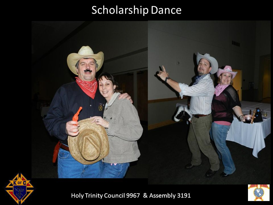 Holy Trinity Council 9967 & Assembly 3191 Scholarship Dance