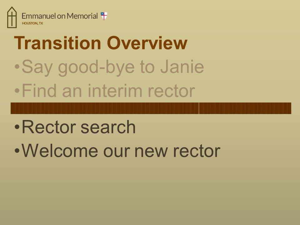 Common Questions about the Rector Search What can I do.
