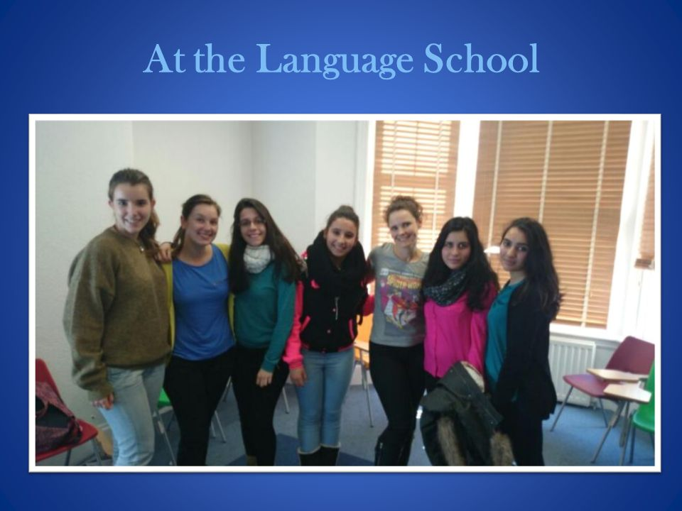 At the Language School