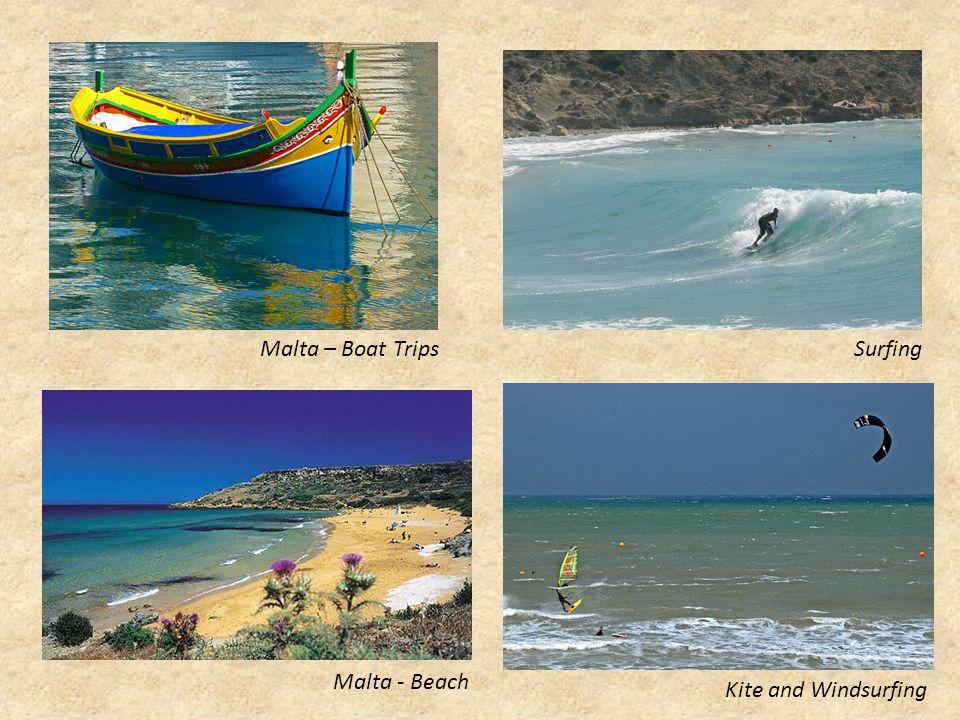 Malta - Beach Kite and Windsurfing SurfingMalta – Boat Trips