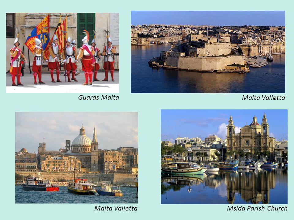 Malta Valletta Msida Parish Church Guards Malta