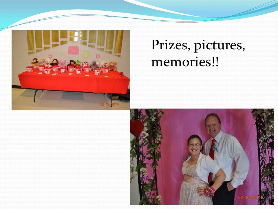 Prizes, pictures, memories!!