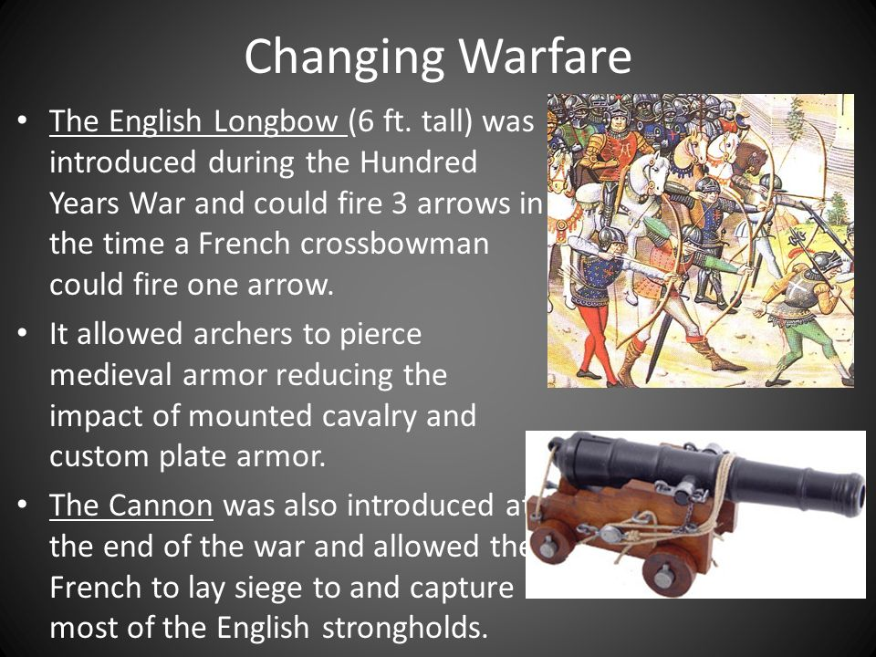 Changing Warfare The English Longbow (6 ft.