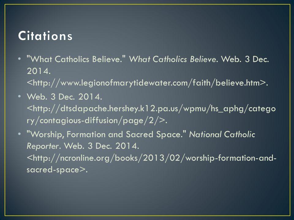 What Catholics Believe. What Catholics Believe.Web.