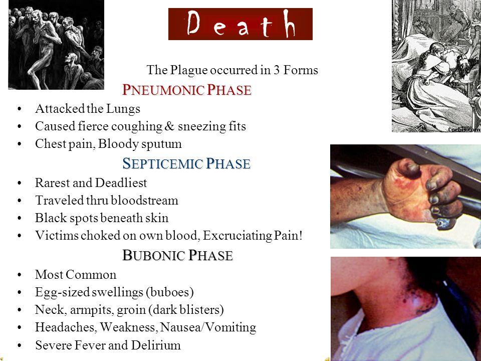 The Black Death, 1348