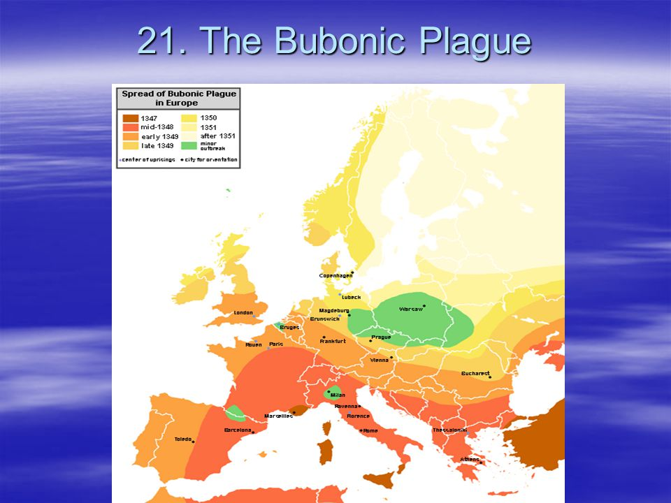 21. The Bubonic Plague