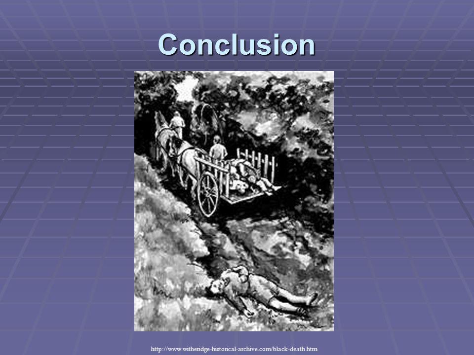 Conclusion http://www.witheridge-historical-archive.com/black-death.htm
