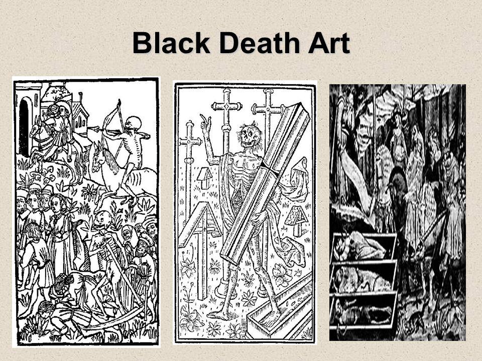 Black Death Art