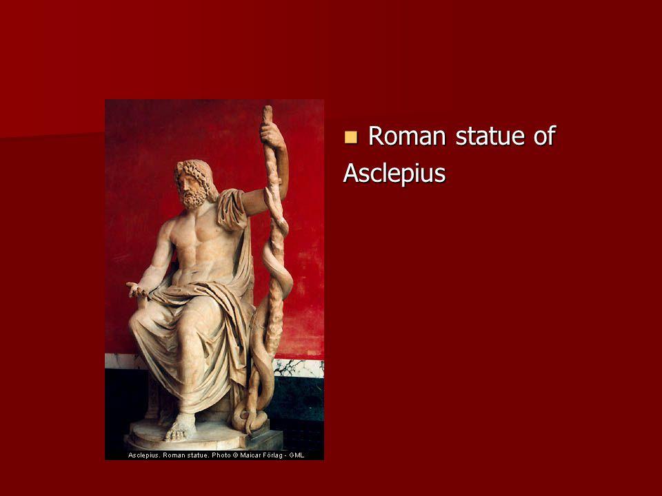Roman statue of Roman statue ofAsclepius