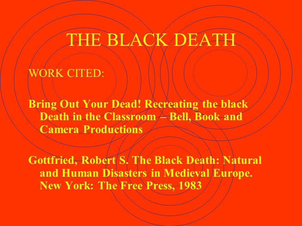 THE QUIZ OF DEATH 1.Where did the Black Death originate.