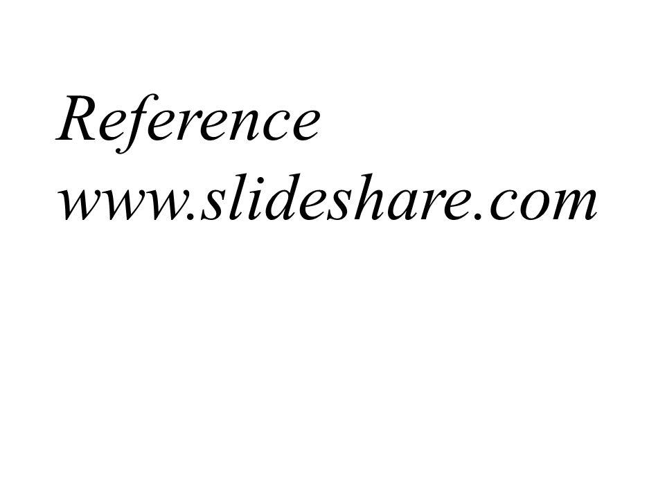 Reference www.slideshare.com