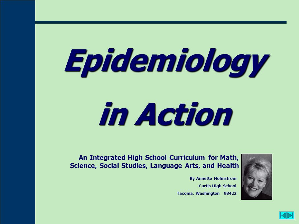 Epidemiology in Action 2 CONTENTS: Unit IWhat is Epidemiology.