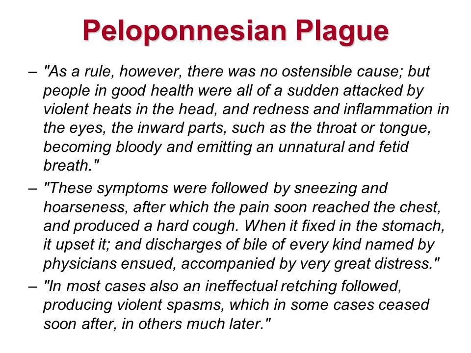 Peloponnesian Plague –