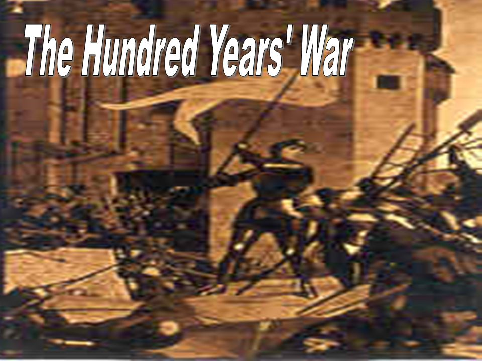 Another development that contributed to the decline of feudalism was the Hundred Years' War.