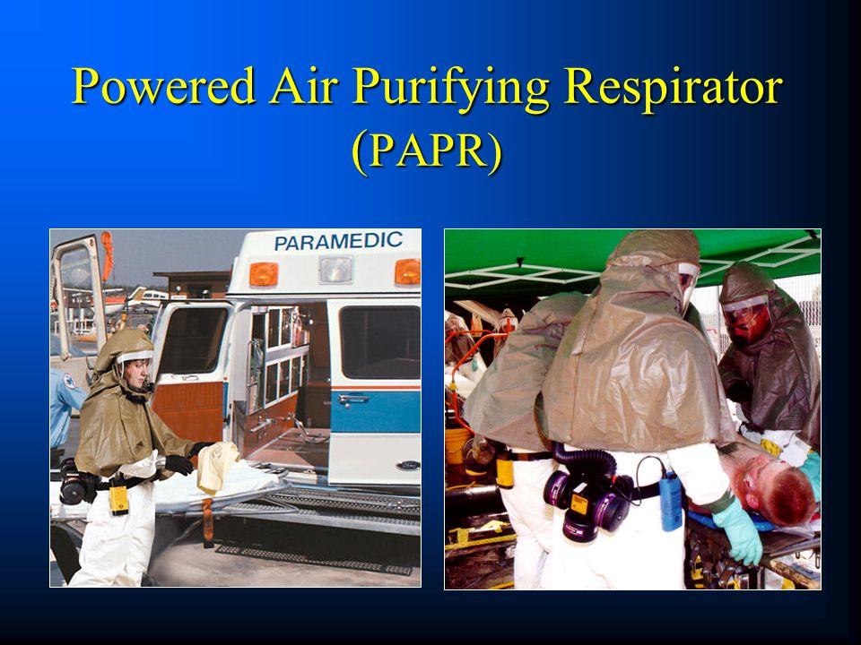 Powered Air Purifying Respirator ( PAPR)