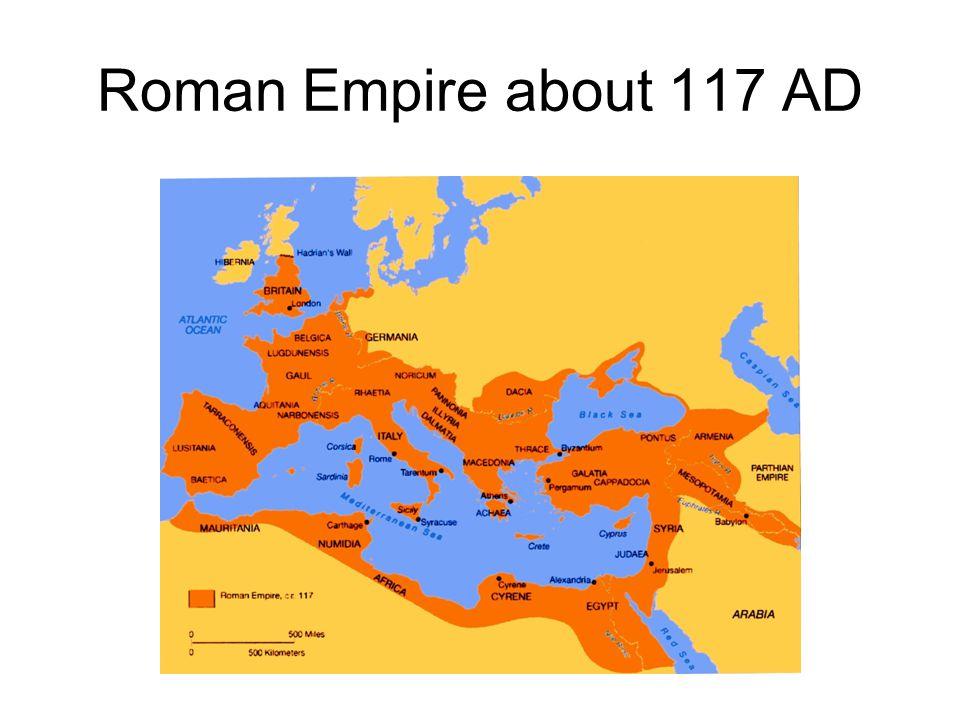 100 AD till… Germanic tribes attack