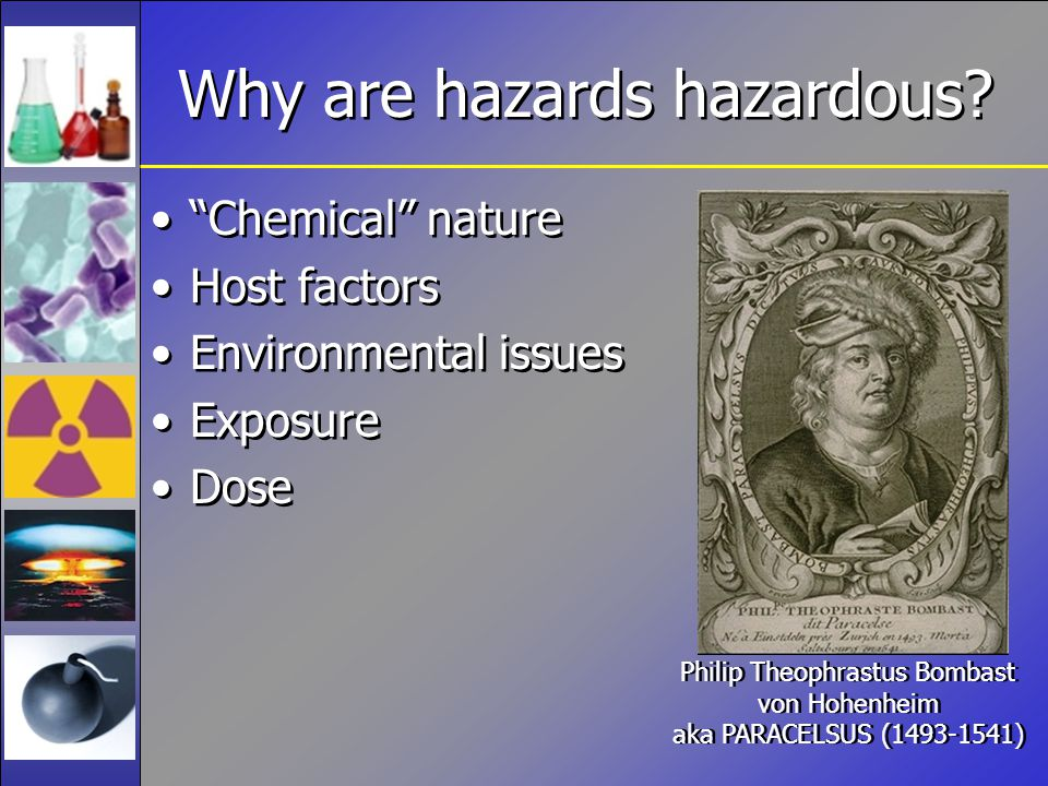 What it is makes it bad Chemical nature and physical properties