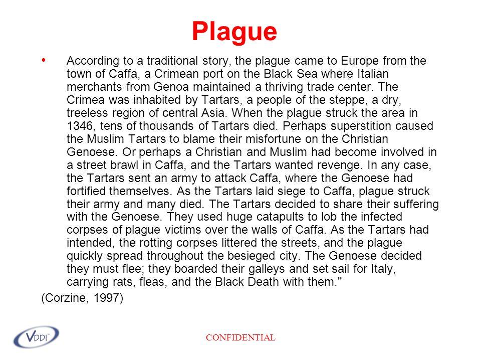 CONFIDENTIAL PLAGUE According to Dr.