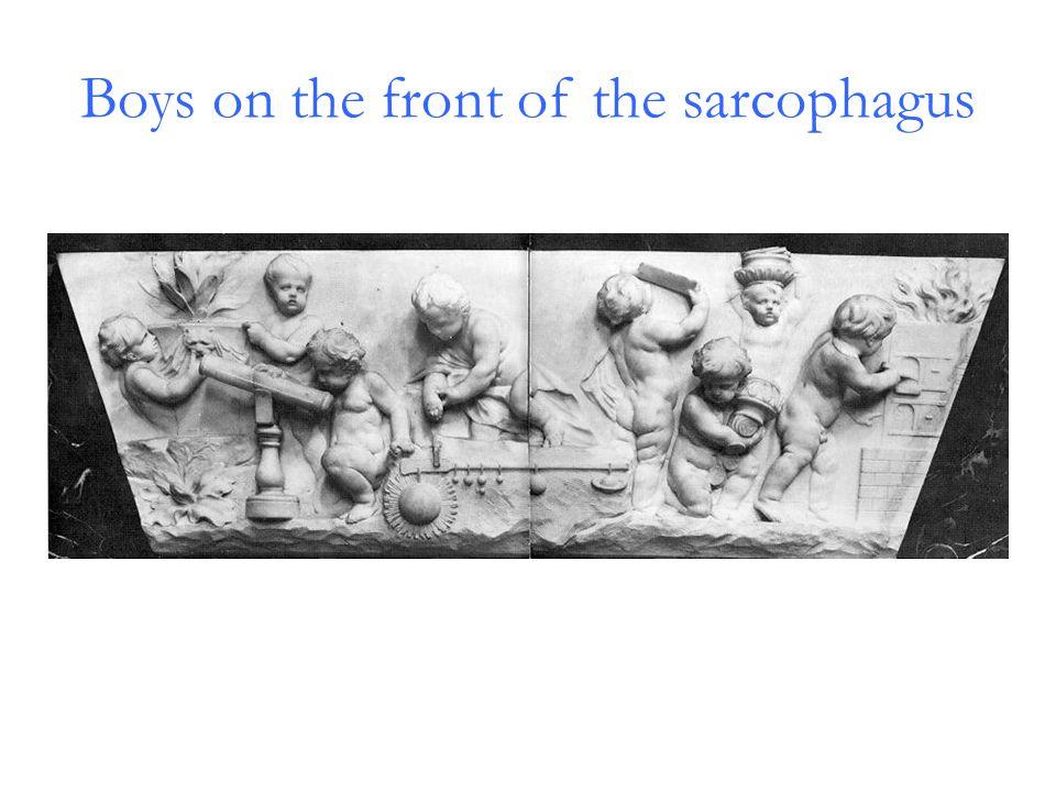Memorial above the Sarcophagus