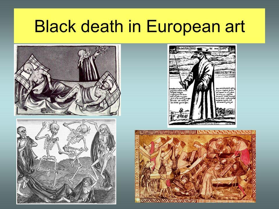 Black death in European art