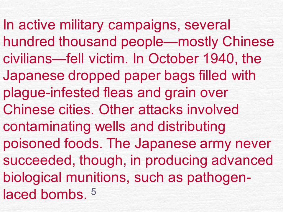 In active military campaigns, several hundred thousand people—mostly Chinese civilians—fell victim.