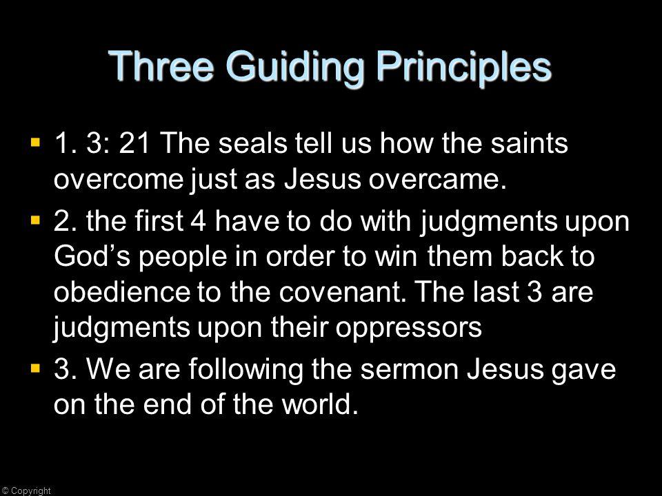 Three Guiding Principles   1.