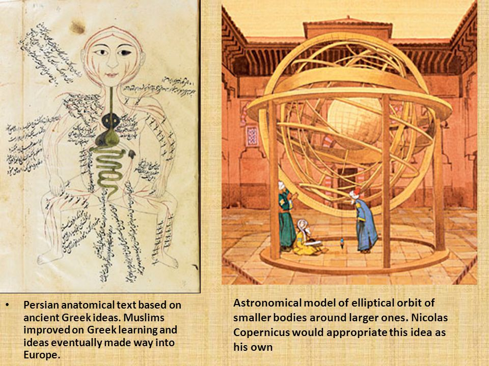 Persian anatomical text based on ancient Greek ideas.