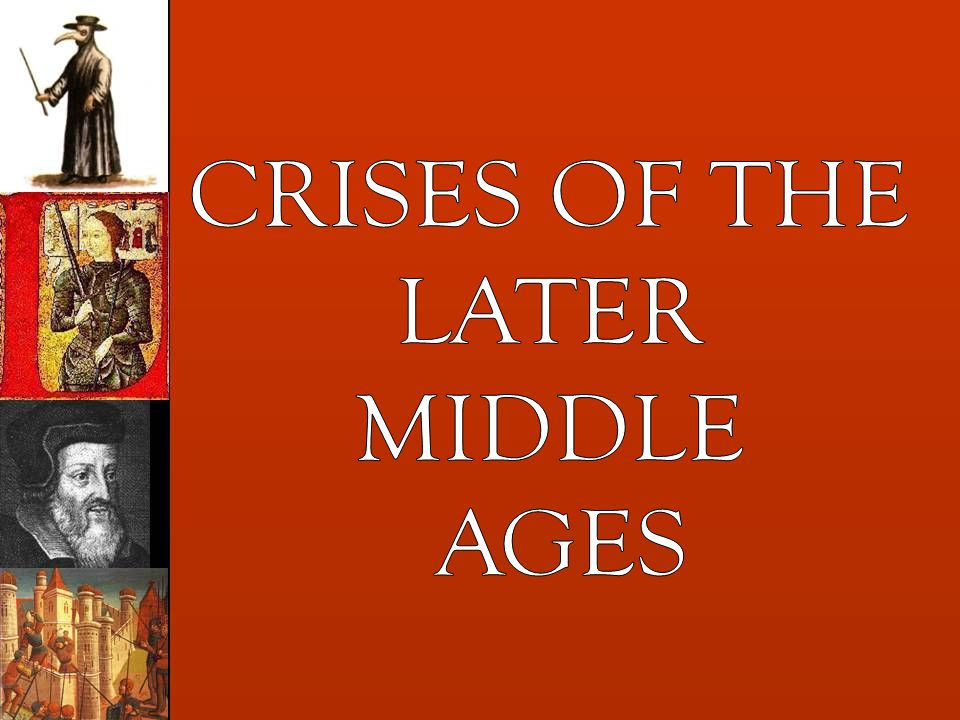 END OF SAMPLE The complete version of the Later Middle Ages is available with a subscription to the European History PowerPoints for Teachers.
